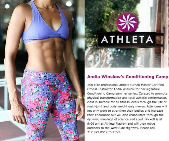 Athleta Andia Winslow Conditioning Camp 5.10.14 Athleta