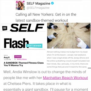 SELF Magazine - Fitness Feature